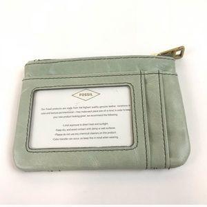 Fossil Accessories - Fossil Key Fob Credit Card ID Holder Light Green
